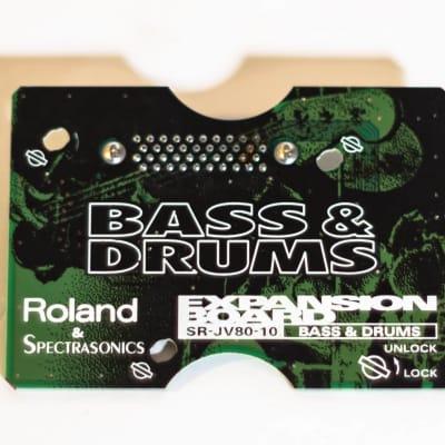 Roland & Spectrasonics Bass & Drums Expansion Board SR-JV80-10 for Roland JV80