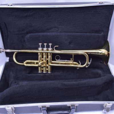 King Student Model 600 Bb Trumpet Brass SN 269958