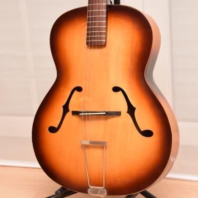 Hüttl Studio – 1960s German Vintage Archtop Parlor Jazz Guitar / Gitarre for sale