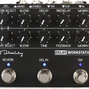 Keeley Delay Workstation Multi-effects Pedal 2 day delivery