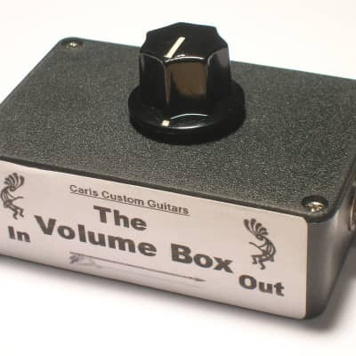 Carl's Custom Volume Box Smooth Taper Effect Loop Attenuator for Fender Hot Rod/Blues Deluxe/Deville for sale