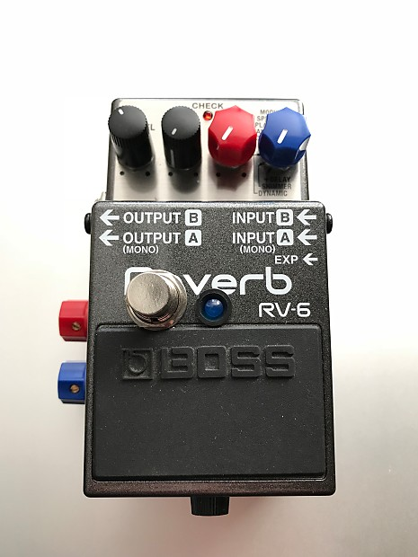jhs boss rv6 reverb pedal rv 6 with jhs dual mode preset reverb. Black Bedroom Furniture Sets. Home Design Ideas