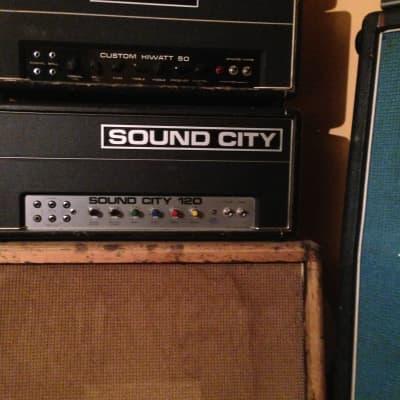 Vintage 1972 Sound City 120 mk 4 Head valve head for sale