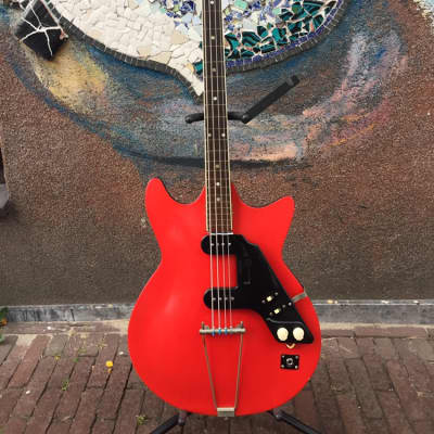 Egmond Bass 60 ' s Red for sale