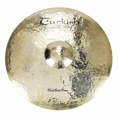 "Turkish Cymbals 22"" Rock Beat Raw Ride"