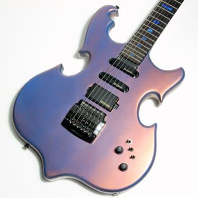 2001 Alembic Custom Guitar Triple Omega Double Duo Chrome Flip Flop Finish - Series ii i for sale