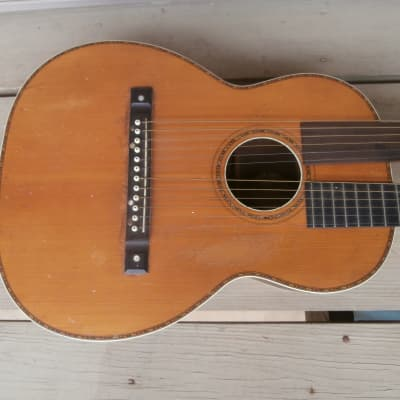 Vintage Circa 1917 Lyon & Healy American Conservatory G2210 Acoustic Harp Guitar Project! for sale