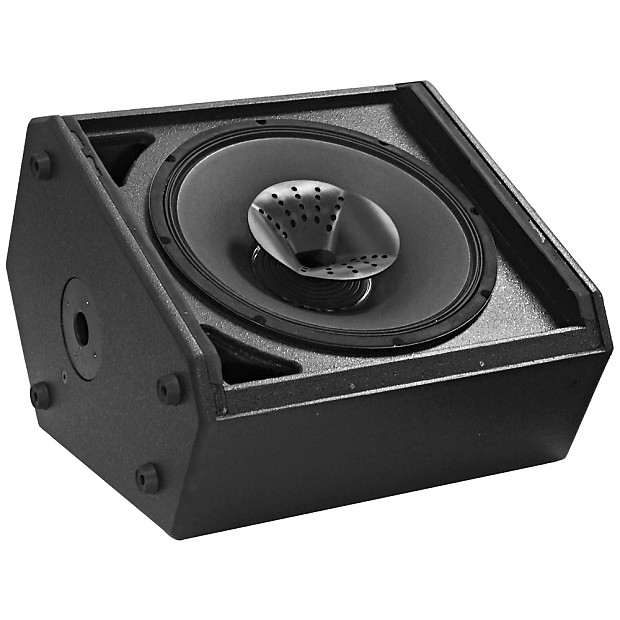 Compact 12 inch 2 way coaxial floor stage monitor with for 12 inch floor speakers