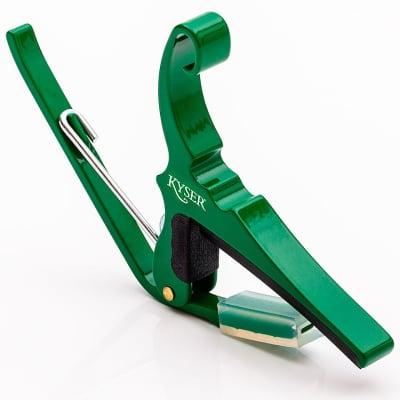 Kyser KG6EG Emerald Green Quick Change Guitar Capo