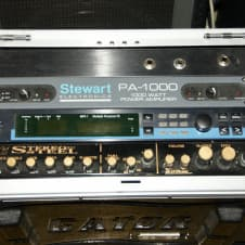 Stereo Steel + Stewart PA-1000 power Amp + Lexicon Multiple Processor FX Pedal Steel Guitar Process