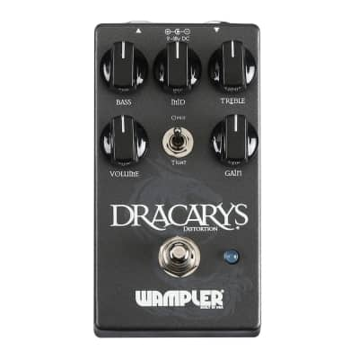 New Wampler Dracarys Distortion Overdrive Guitar Effects Pedal!