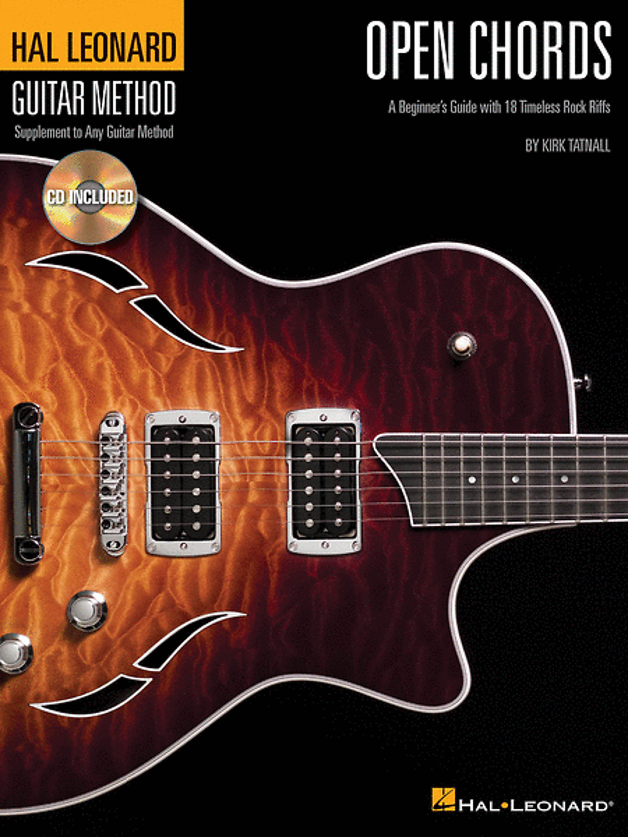 Hal Leonard Open Chords A Beginners Guide With 18 Reverb