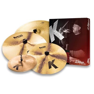 "Zildjian K0800 K Series Box Set 14/16/18/20"" Cymbal Pack"