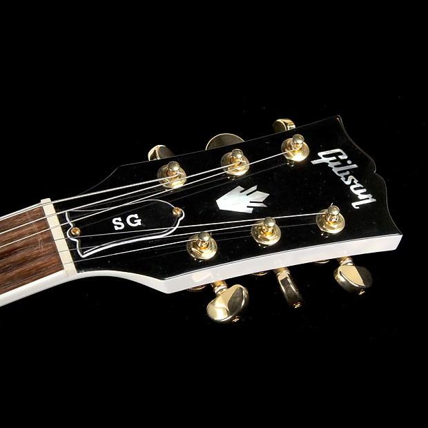 used 2017 gibson sg standard gold series electric guitar reverb. Black Bedroom Furniture Sets. Home Design Ideas