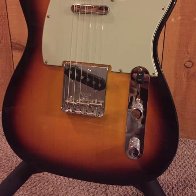 Fender Custom Shop 1963 Telecaster NOS Sunburst 2016 image