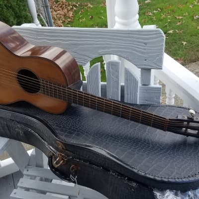 Vintage  Parlour guitar Brazilian  Rosewood,  Cone Heel Design  Parlour Circa.turn Of The Century for sale