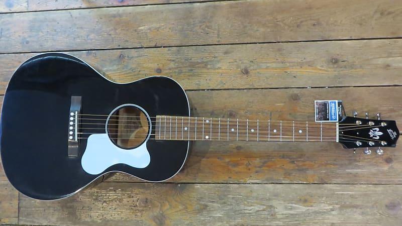 the loar lo 16 bk parlor acoustic guitar brand new solid reverb. Black Bedroom Furniture Sets. Home Design Ideas
