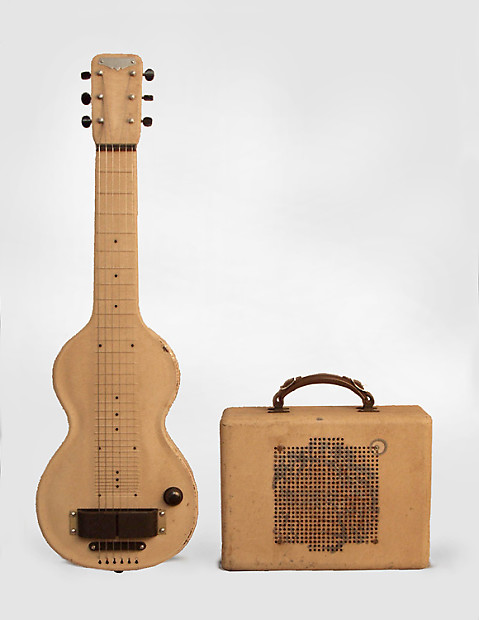 rickenbacker model 59 lap steel electric with matching reverb. Black Bedroom Furniture Sets. Home Design Ideas