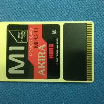 "Rari Suoni per Korg  M1 prodotti in Japan da ""AKIRA"""