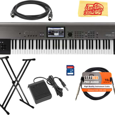 Korg Krome-EX 73-Key Music Workstation w/ Adjustable Stand