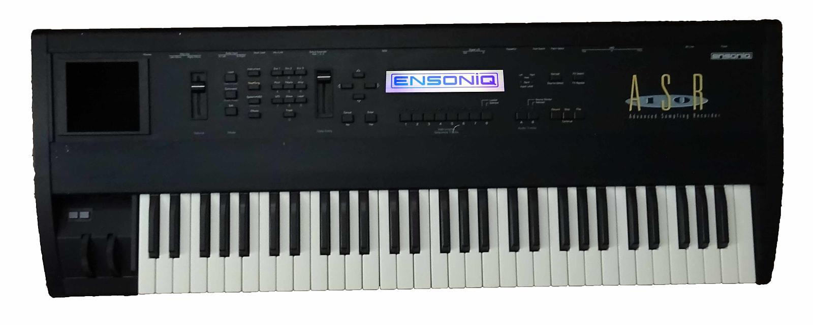 Ensoniq ASR-10 Advanced Sampling Keyboard with Rare Purple Screen