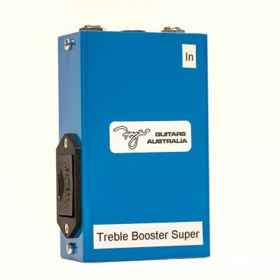 Fryer Treble Booster Super 2021 Blue for sale