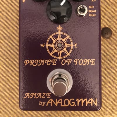 Analogman Prince of Tone - mint w/ box & papers for sale