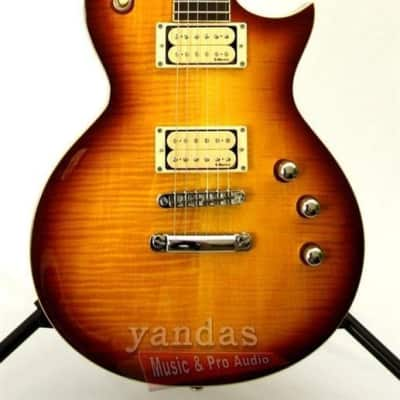 Store Demo   LTD EC-401 VF DMZ Series Electric Guitar - Faded Cherry Sunburst for sale