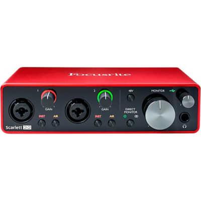 Focusrite Scarlett 2i2 2x2 USB Audio Interface (3rd Generation) - B-STOCK