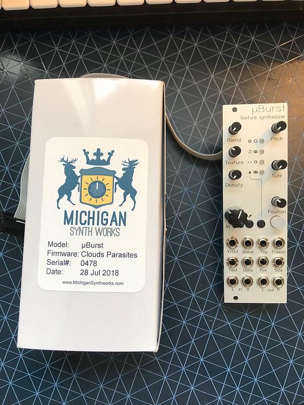 Michigan synth works uBurst (Microburst) 2018 | MontanaMtl