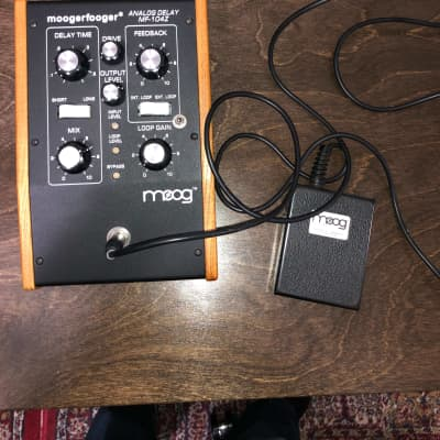Moog Moogerfooger MF-104Z Analog Delay - Modified with Spillover Switch and Toggle Pedal for sale