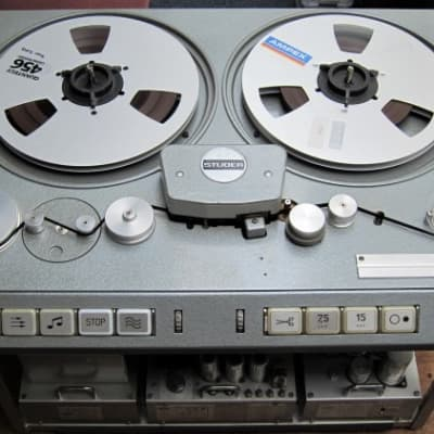 """Studer C37 ¼"""" Stereo tape machine. Fully serviced and ready to record"""