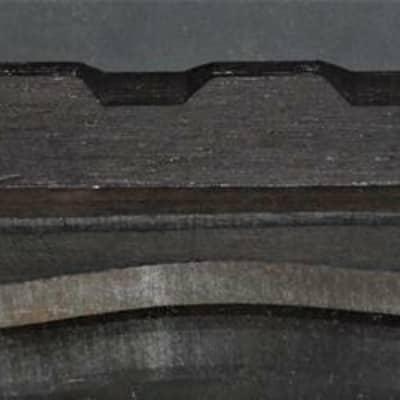 Ebony Adjustable Mandolin Bridge w/ Compensated Top