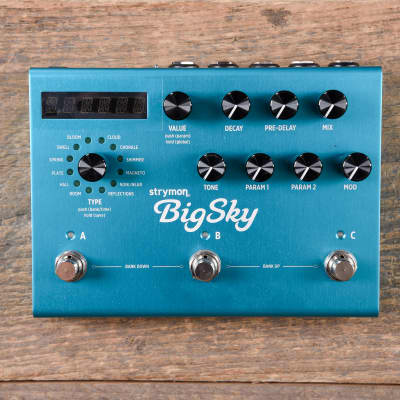 Strymon BigSky Reverberator Pedal