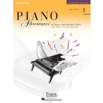 Piano Adventures: The Basic Piano Method - Lesson Book Level 4 (2nd Edition)