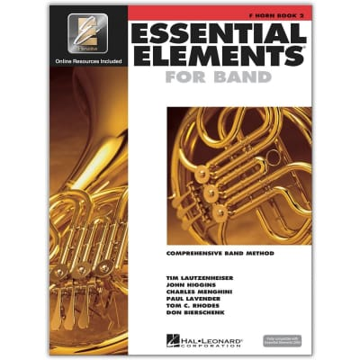 Essential Elements 2000: Comprehensive Band Method - French Horn | Book 2 (w/ CD)