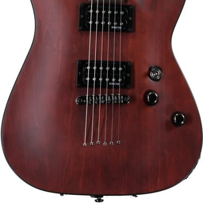 Schecter Omen-6 Electric Guitar - Walnut Satin for sale