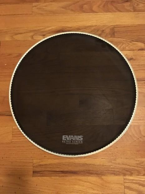 Evans Screen Drum Head : evans 18 retro screen resonant bass drum head reverb ~ Vivirlamusica.com Haus und Dekorationen