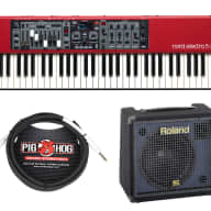 Nord Electro 5D 61 Stage Piano + Roland KC-150 + Cable