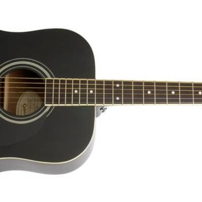 Epiphone EA10EBCH1 DR-100 Ebony Chrome Hardware for sale