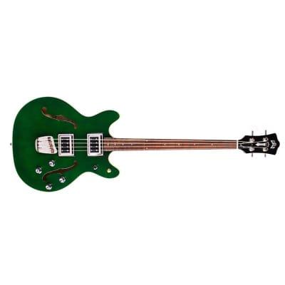 Guild Starfire II Bass Newark St Hollow-Body, Emerald Green for sale