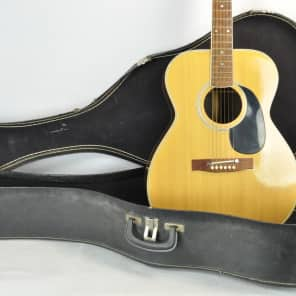 Ensenada Japan MIJ Japanese Norma, National, 000-28 OM28 Style Acoustic Guitar w/ Chipboard case for sale