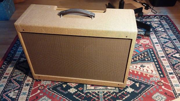 Blues Jr  Custom 2x12 Solid Pine Tweed Cabinet - Free Shipping!
