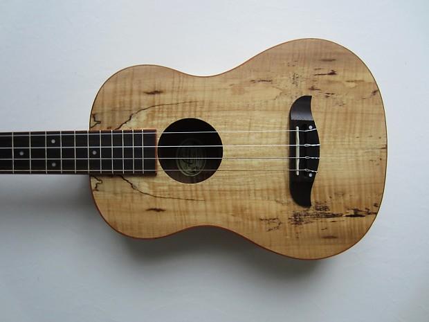 oscar schmidt ou58 baritone ukulele spalted maple with gig reverb. Black Bedroom Furniture Sets. Home Design Ideas