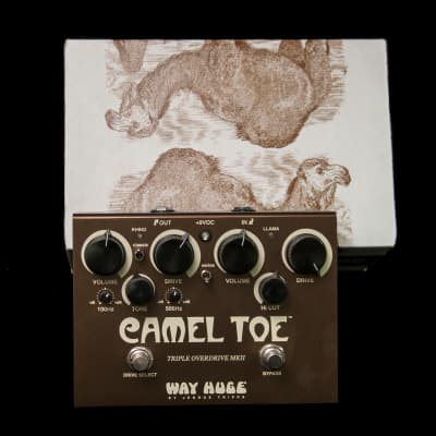 Way Huge WHE209 Camel Toe Triple Overdrive Pedal