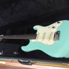 Schecter Nick Johnston Signature 2017 Surf Green image