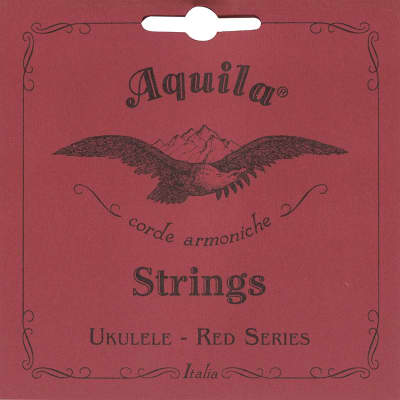 Aquila 85U RED SERIES, Ukulele CONCERT Regular Tuning, Key of C