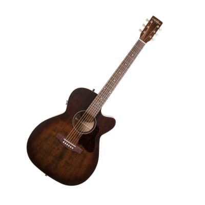 Art & Lutherie Legacy Bourbon Burst CW Acoustic Electric Guitar with Cutaway Bourbon Burst