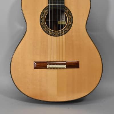 1995 Ricardo Sanchis Carpio 1A Rio Classical Guitar Natural Finish for sale