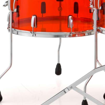 "Pearl Crystal Beat 14""x13"" Floor Tom RUBY RED CRB1413F/C731 Drum"